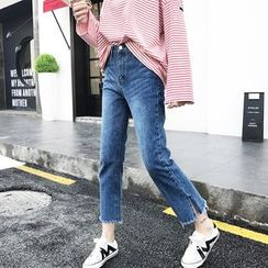 EKOOL - Washed Jeans