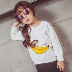 柠檬嘟嘟 - 小童印花套衫