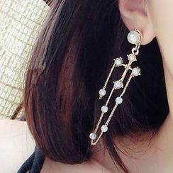 Ciroki - Pearl Drop Earrings