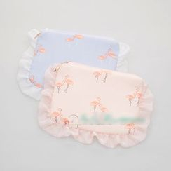 Cottoncraft - Flamingo Print Sanitary Pad Pouch