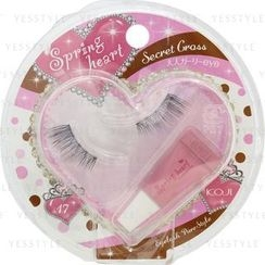 Koji - Spring Heart Eyelash (#17 Secret Cross)