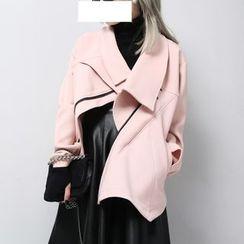 Sonne - Asymmetric Zipper Jacket