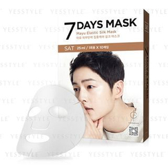 forencos - 7 Days Mask Mayu Elastic Silk Mask (Saturday)