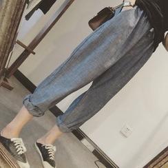 MePanda - Plain Harem Pants