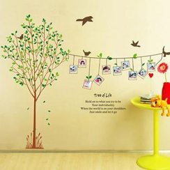 LESIGN - Tree Photo Frame Wall Sticker