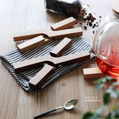 川岛屋 - 木质杯垫