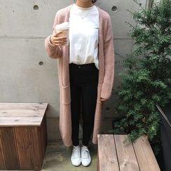Sinbounboun - Plain Long Cardigan