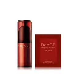 Charm Zone - DeAGE Red Addition Eye Cream Set: 30ml + Eye Patch 2packs
