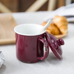 Modern Wife - Coffee Mug with Lid