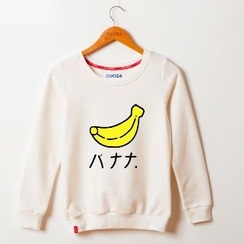 Onoza - 香蕉印花套頭衫