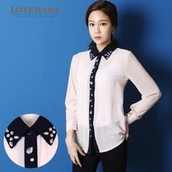 Love hada - Embellished Blouse