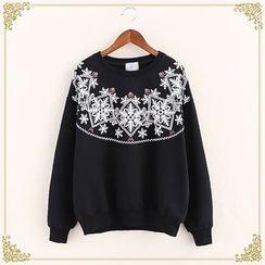 Fairyland - Patterned Sweatshirt