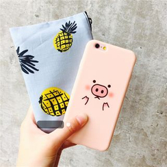 Milk Maid - Pig Print iPhone 6 / 6 Plus / 7 / 7 Plus Case