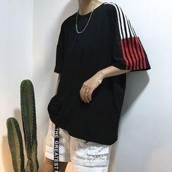 Real Boy - Short-Sleeve Striped T-Shirt