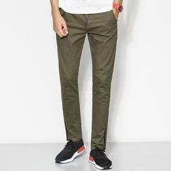 MiNGLI - Plain Straight Pants