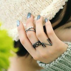 Jemai - 戒指四件套