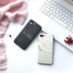 Stardigi - 字母手机套连颈带 - 苹果 iPhone 6 / 6 Plus / 7 / 7 Plus
