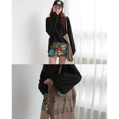 NIPONJJUYA - Oversized Cotton Summer Pullover