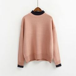 Porta - Color Block Sweater