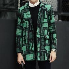 Seoul Boy - Print Knit Blazer