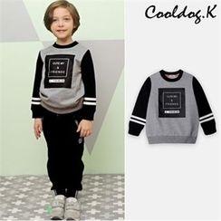 WALTON kids - Kids Lettering Sweatshirt