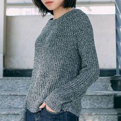 Pluvio - Plain Chunky Knit Sweater