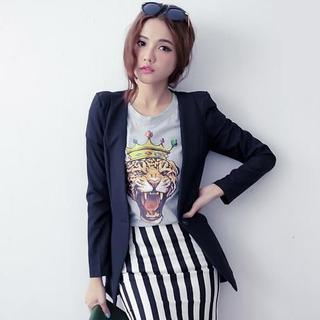 D.P-Shop - Single-Button Blazer
