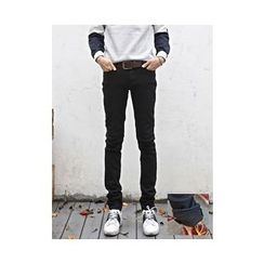 PLAYS - Brushed-Fleece Straight-Cut Pants
