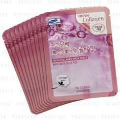 3W Clinic - Fresh Collagen Mask Sheet
