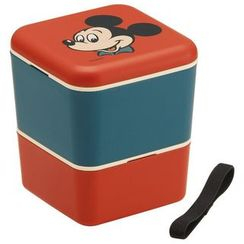 Skater - Mickey Mouse 2 Layer Square Lunch Box