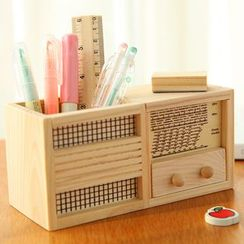 Show Home - Wooden Desk Organizer