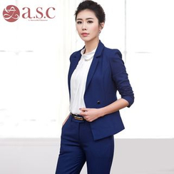 Aision - Double-Breasted Jacket / Pants