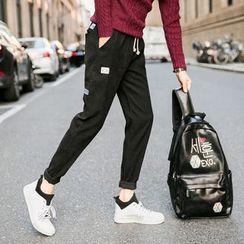 Hansler - Corduroy Slim-Fit Pants