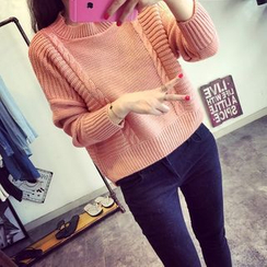 Lucy Girl - 麻花针织毛衣