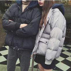 优凡士品 - 连帽夹棉夹克