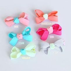 Chapa - Kids Bowed Flower Hair Clip