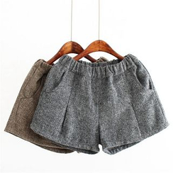 Moricode - Tweed Knit Shorts