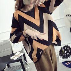 FR - Contrast Trim Sweater