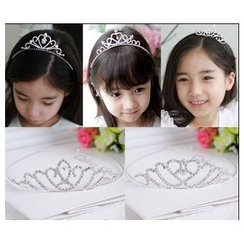 Aurabe - Kids Rhinestone Princess Hair Band
