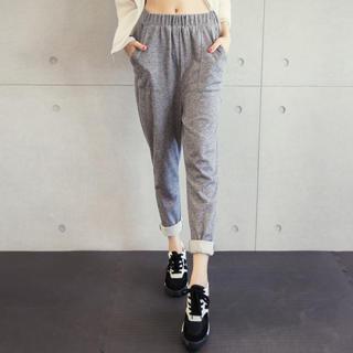 Tokyo Fashion - Elastic-Waist Sweatpants