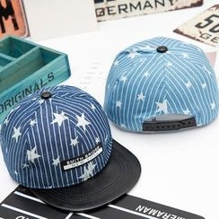 Buttercap - Striped Baseball Cap