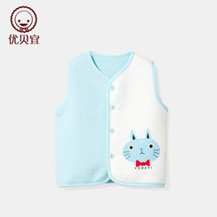 Yobaby - Kids Bear Panel Vest