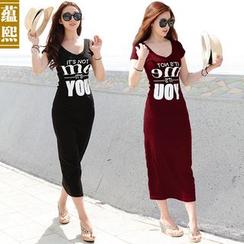 Ranee - Lettering Maxi Dress