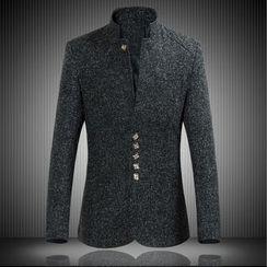 Blueforce - 立領西裝外套