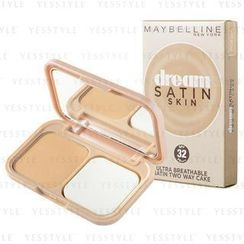 Maybelline New York - Ultra Breathable Satin Two Way Cake SPF 32 PA+++ (#PO3 Sandy Brown)