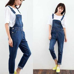 Tulander - Washed Slim-Fit Dungaree