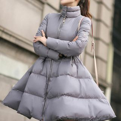 FancyMe - Plain Padded Coatdress