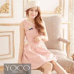 Tokyo Fashion - Beaded Jacquard Tank Dress