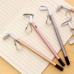 Red Unicorn - 创意金属质感高尔夫球中性笔