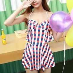 DJ Design - Gingham Swimdress